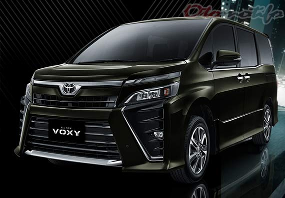 Gambar Mobil Kelurga Terbaik Toyota Voxy
