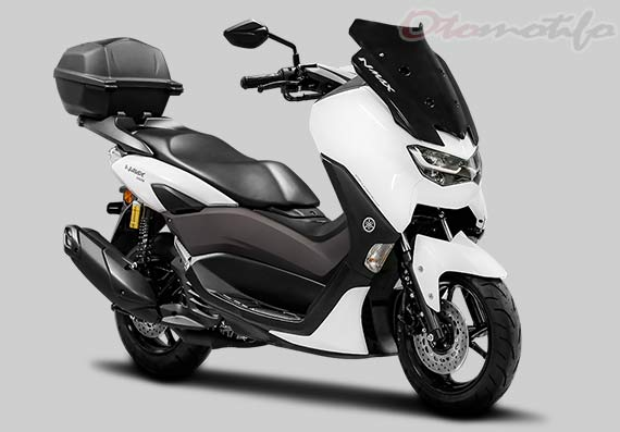 Gambar Motor Yamaha NMAX Connected ABS