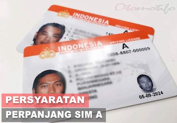 Persyaratan Perpanjang SIM A