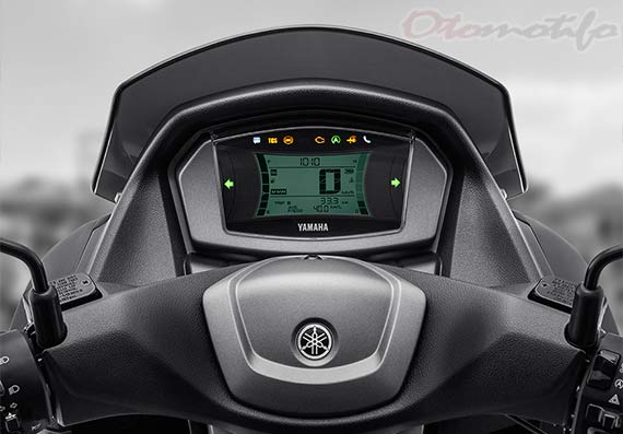 Speedometer Yamaha NMAX Connected