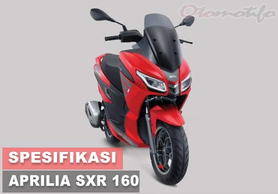 Spesifikasi dan Harga Aprilia SXR 160