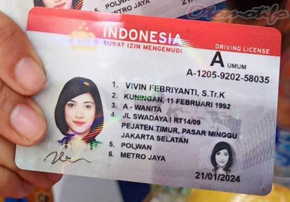 Contoh SIM A Umum