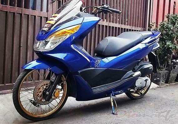 Modifikasi Motor PCX CBU