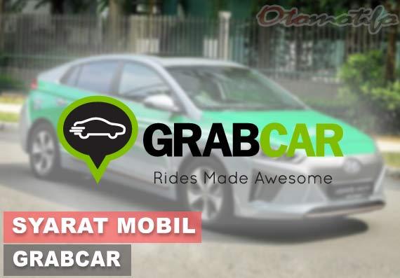 Syarat Mobil GrabCar