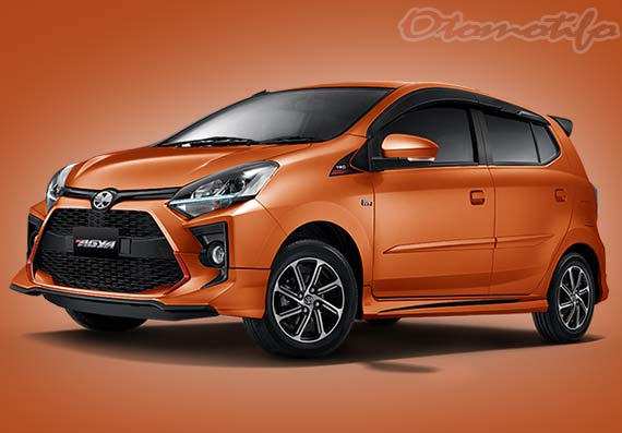 Warna New Agya Orange