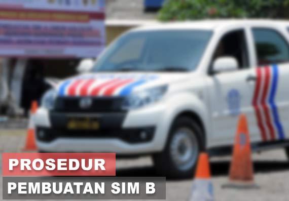 Cara Membuat SIM B