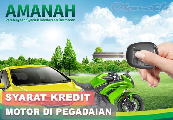 Syarat Kredit Motor di Pegadaian Syariah