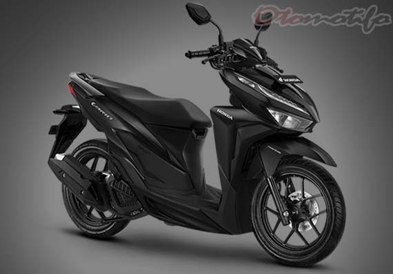 Motor Vario 125cc Warna Hitam
