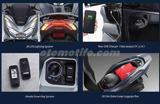 Fitur Honda PCX 160